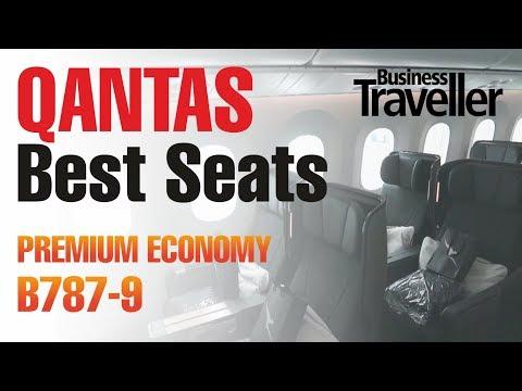 Best Seats in Premium Economy on the Qantas Dreamliner B787 ...