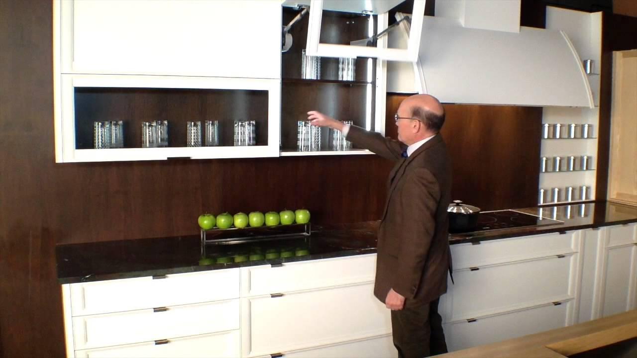 bi fold kitchen cabinet doors mico faucets rutt cabinetry with power open blum aventos hf bi-fold ...
