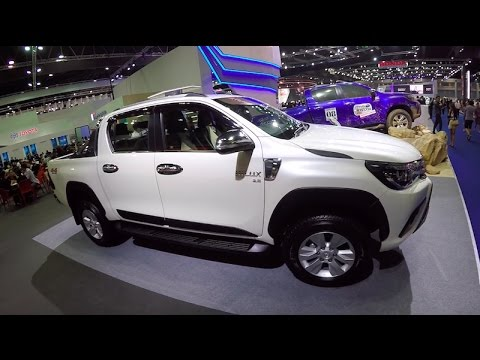 New 2017 Pickup Toyota Hilux Revo G Double Cab Youtube