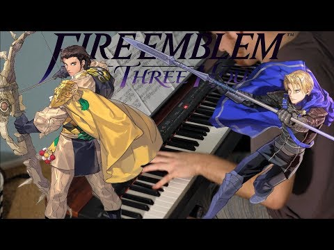 Fire Emblem: Three Houses - Fodlan Winds for Piano Solo +