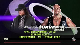 WWE 2K15- The Undertaker vs Stone Cold Steve Austin For WWE Champion (PS4)