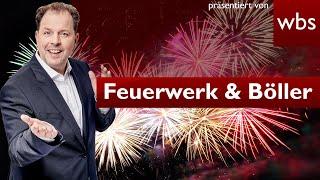 🎆Feuerwerk & 🧨Böllern an Silvester: Das müsst ihr beachten | Rechtsanwalt Christian Solmecke