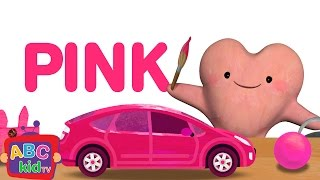 Color Song - Pink   CoCoMelon Nursery Rhymes & Kids Songs