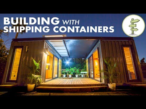 Shipping Container Homes Cabins Youtube