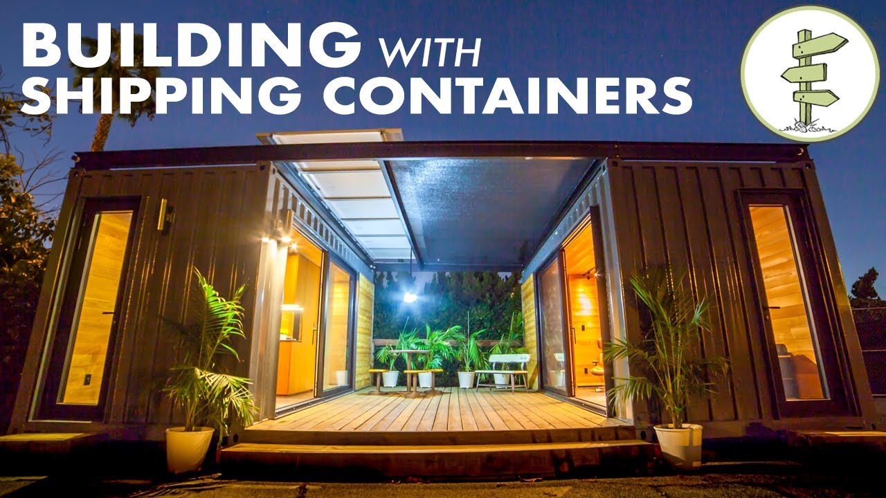 Building Amazing Homes Mobile Spaces Using Shipping