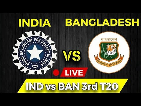 🔴 LIVE : INDIA vs Bangladesh 3rd t20 Live | Ind vs Ban Live 3rd t20 Live | Today match Live 2019