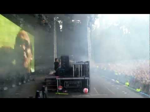 Backstage - SKRILLEX in Finland @ Weekend Festival 17 Aug 2012