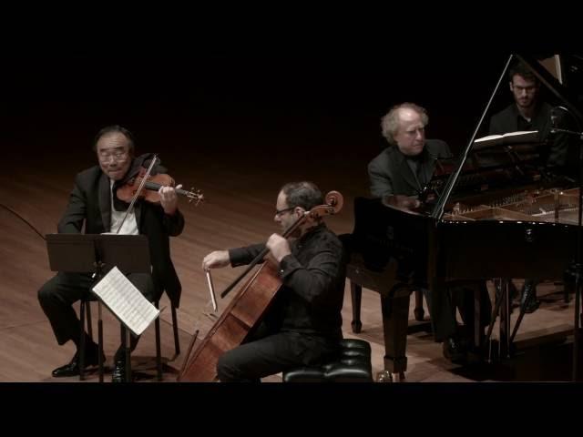 Brahms: Trio in C major for Piano, Violin, and Cello, Op. 87, I. Allegro