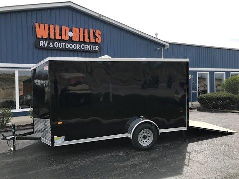 US Cargo 6x12 enclosed trailer with ramp door $2795.00
