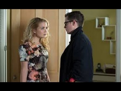 Eastenders - Phil pushes over pregnant Abi - 28th March 2016