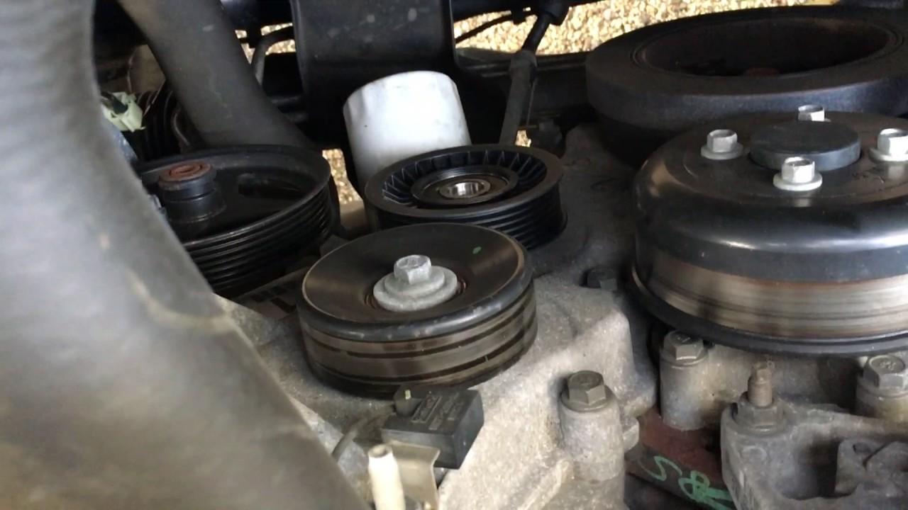 2010 F150 Idler Pulley Repair