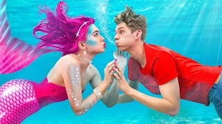 My Friend is a Mermaid Part 2! / Funny Mermaid Situations