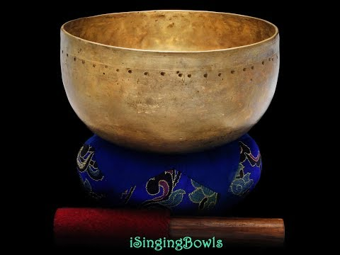 #8811:  antique Tibetan Singing Bowl