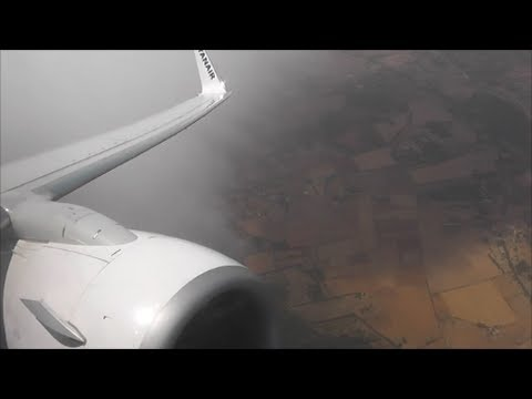 Ryanair Boeing 737-800 | Palma Mallorca to East Midlands *Full Flight*
