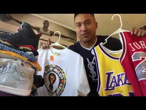 Trip to the Thrift! Ep. 3 (Making $1250!, Round 2, Jordans, BAPE, Tommy, jerseys, etc.)