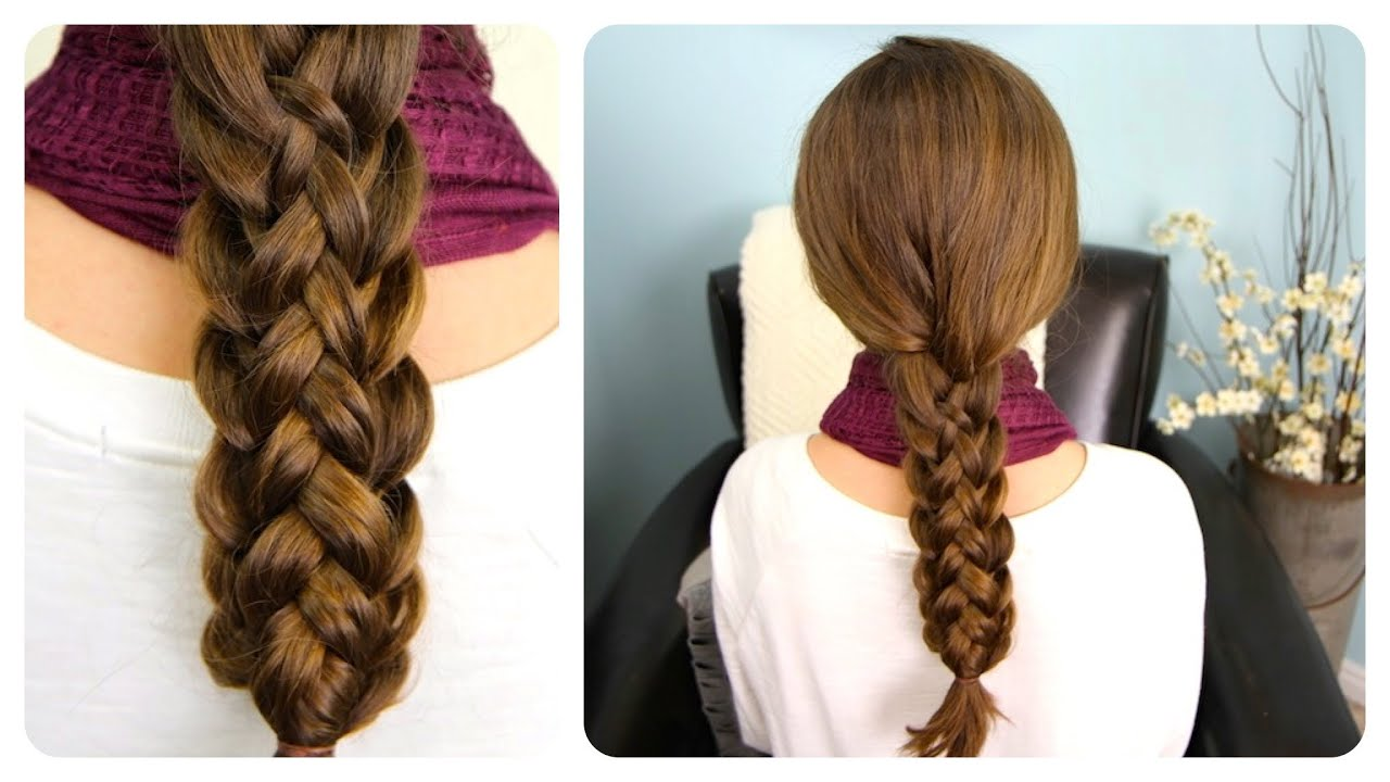 Stacked Braids | Cute Girls Hairstyles - YouTube