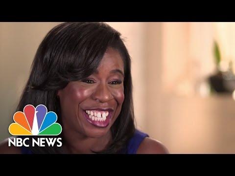 Uzo Aduba 'Crazy Eyes' Loves To Smile  Dateline  NBC