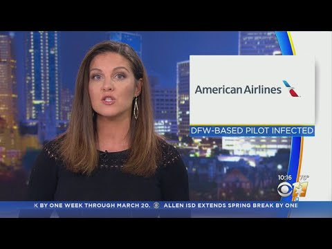 American Airlines Pilot Pilot Based Out Of DFW Tests Positive For Coronavirus