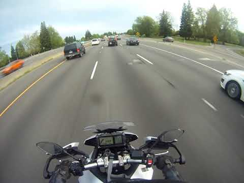 Intentional Hit & Run (Assault w/weapon) Sacramento, CA. Prevents Legal Lane-Splitting.