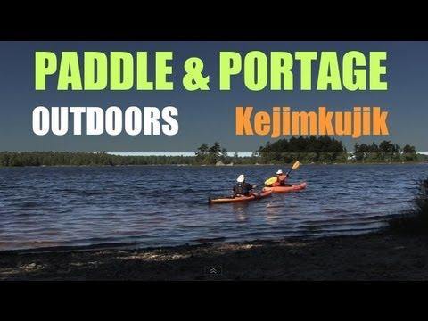 Kayak Camping in a Yurt at Kejimkujik National Park