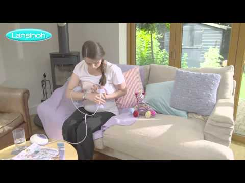Lansinoh 2in1 Electric Breast Pump - How to Use