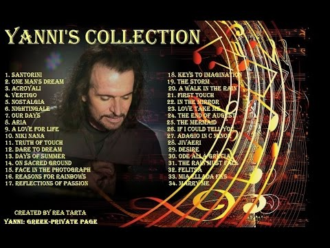 YANNI'S COLLECTION!!!