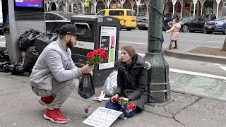 Happy Valentines Day! Sharing Love and Giving Back To The Homeless (4K Video)