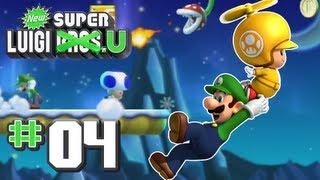 New Super Luigi U - World 4 - Frosted Glacier 100% (2 Players)