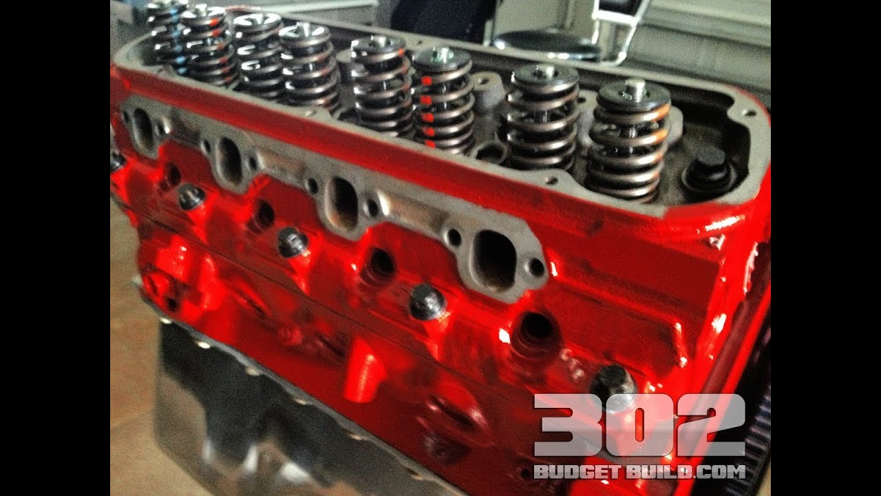 how to install cylinder heads on a small block ford 302 gt40 gt40p heads arp bolts [ 1280 x 720 Pixel ]