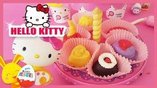 Hello Kitty - Pâte à modeler - Les gateaux - Les Titounis