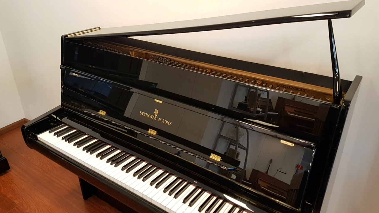 steinway sons z114 demo prima piano youtube. Black Bedroom Furniture Sets. Home Design Ideas