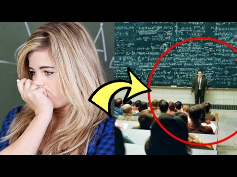 A Slacker Was 20 Minutes Late And Received Two Math Problems… His Solutions Shocked His Professor
