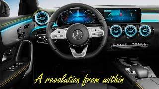 The New Mercedes A-Class (2019) INTERIOR