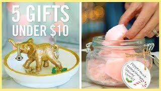 Diy | 5 Gifts Under $10