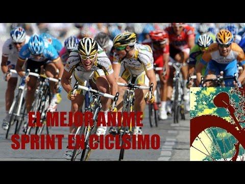 El mejor anime sprint en ciclismo