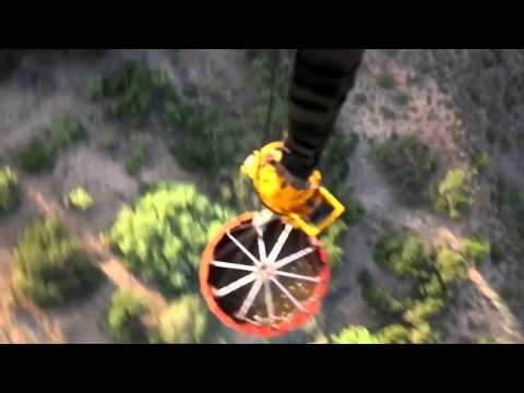 WILDFIRES!  Marine Heavy Helicopter Squadron (HMH) 462 Aerial Firefighting!
