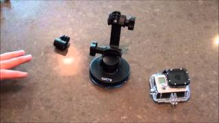 New GoPro Suction Cup Mount Review