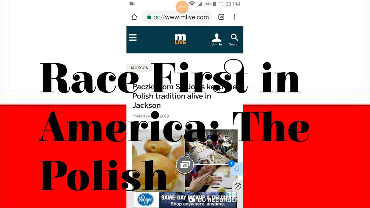 Race First In America: The Polish