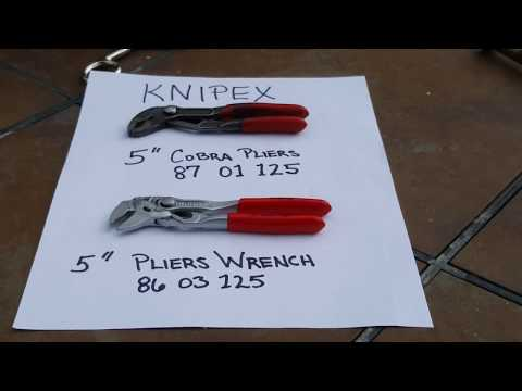 Knipex Mini Pliers Wrench plus EDC Tool Pouch (Ver 2)