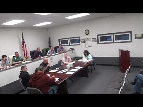 Town of Mount Hope Town Board Meeting April 15, 2019 | Town
