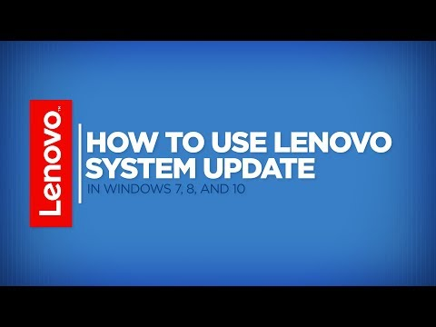 How To - Use Lenovo System Update