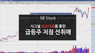 급등주, 저점매수, 시그널 보조지표를 통한 선취매 [SB Stock]