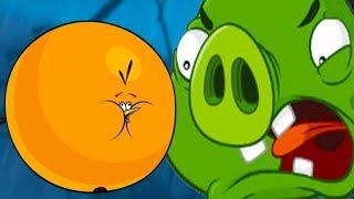 БАБЛС против КОРОЛЯ Свиней Angry Birds #21 Новая птичка Кида на крутилкины