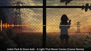 Gambar cover [Hardstyle] Linkin Park & Steve Aoki - A Light That Never Comes (Coone Remix)