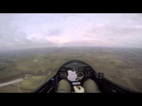 Pilatus B4 Aerobatics - Pilots View