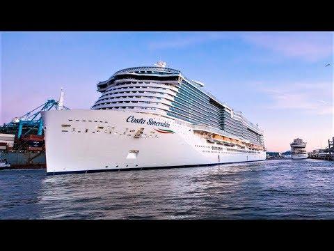 Costa Smeralda Cruise Ship Tour 4K