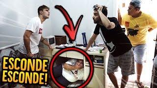 GORDO VS MAGRO: ESCONDE-ESCONDE NA VIDA REAL!! [ REZENDE EVIL ]