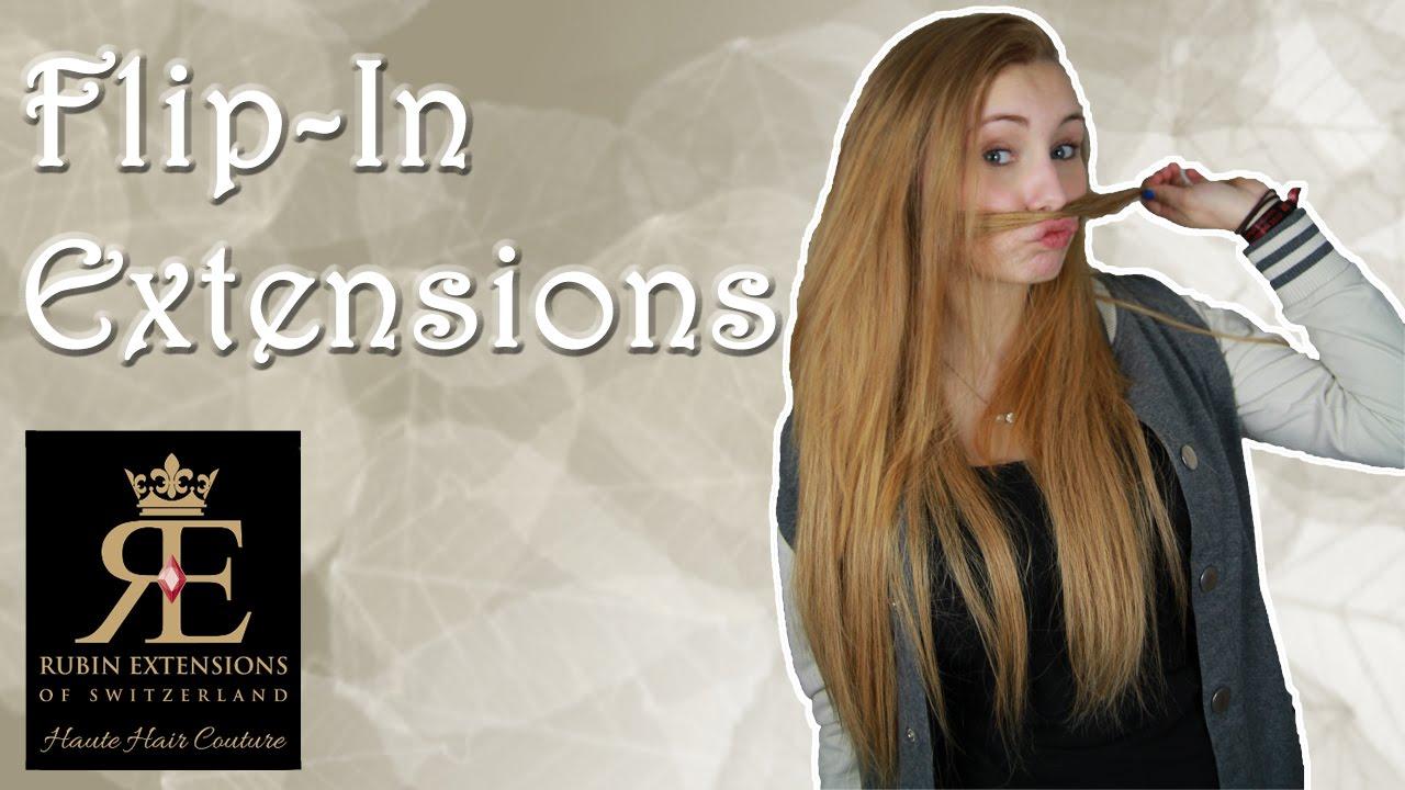 Flip in extensions von rubin haareflechten youtube pmusecretfo Images