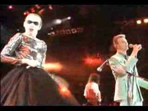 Annie Lennox & David Bowie
