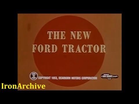 Ford Golden Jubilee Tractor Introduction (1953)